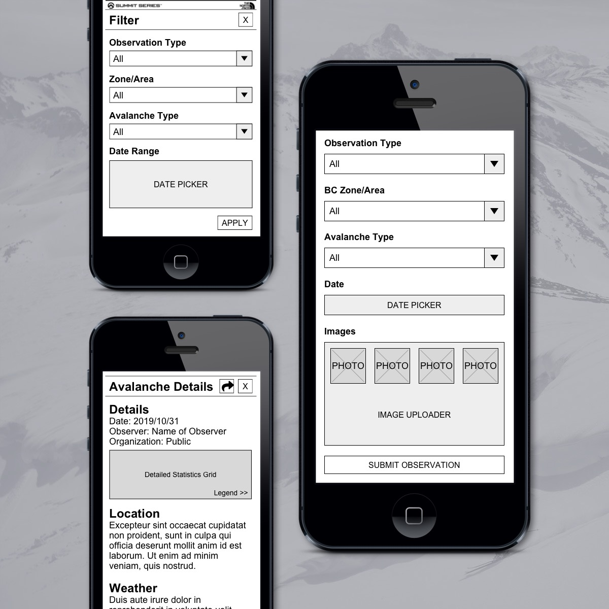 caic-wireframes-and-rapid-prototype