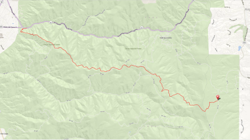 south boundary route map